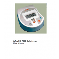 OroTox Colorimeter User Manual (For additional order)